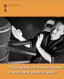 PictureSifu Elmond Leung Senior Wing Tsun Instructor in the Wing Chun Illustrated Magazine #3