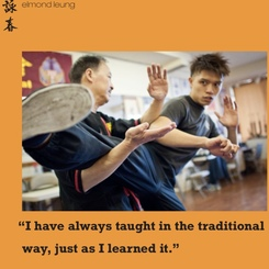 Sifu Elmond Leung Senior Wing Tsun Instructor in the Wing Chun Illustrated Magazine #2